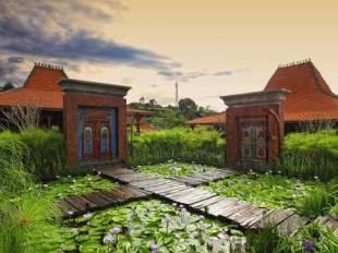Jadul Village Resort And Spa Hotel In Lembang Bandung West Java
