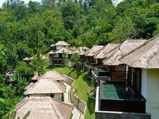 Ubud Hanging Gardens Hotel in Ubud Bali Cheap Hotel price