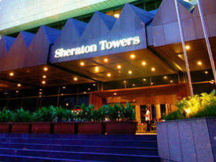 Sheraton Towers Singapore Hotel Di Newton