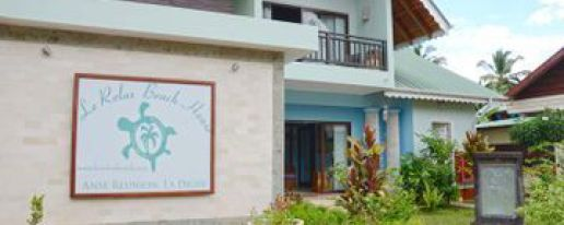 Le Relax Beach House La Digu Hotel In La Digue Island